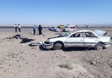 واژگونی خودروی 405 در بافق سه کشته و دو مصدوم داشت