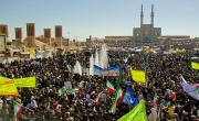 مسیرهای راهپیمایی ۲۲ بهمن در یزد اعلام شد